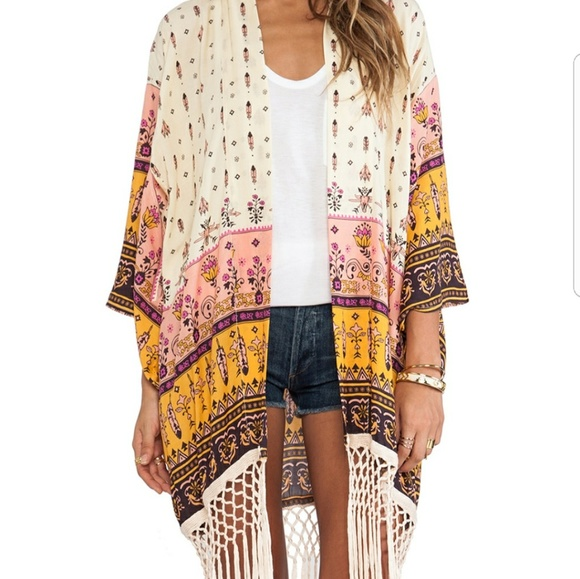 Spell & The Gypsy Collective Other - Flash sale! Spell Desert Wanderer Fringe Kimono
